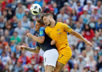 World Cup - Group C - France vs Australia