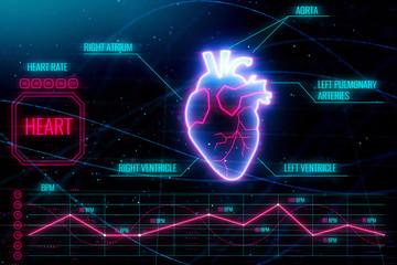 Medical interface backdrop