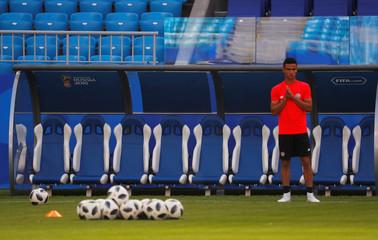 World Cup - Costa Rica Training