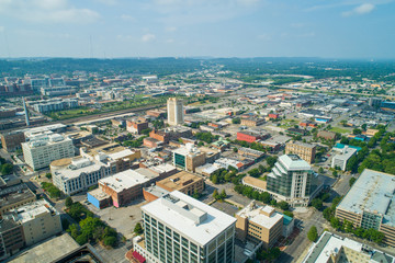 Aerial photo Downtown Birmingham Alabama USA
