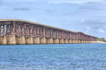 The Camelback Bridge in the Florida Keys