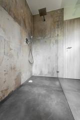 Modernes Badezimmer, Dusche, Glas