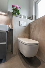 Modernes Badezimmer, Toilette