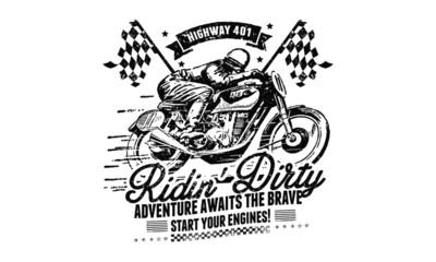 Motorbike Racing Design