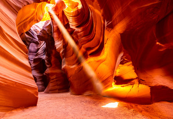 Printed kitchen splashbacks American Famous Place Upper Antelope Canyon