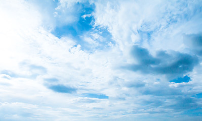 blue sky with clouds background.Sky clouds.Sky with clouds weather nature cloud blue