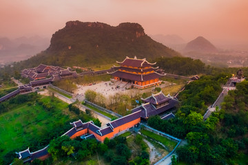 Bai Dinh Pagoda - The biggiest temple complex in Vietnam, Trang An, Ninh Binh