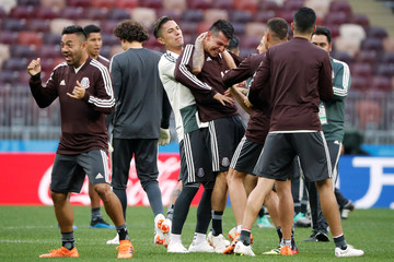 World Cup - Mexico Training