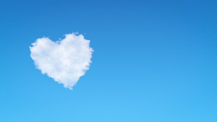 Heart Shape Cloud