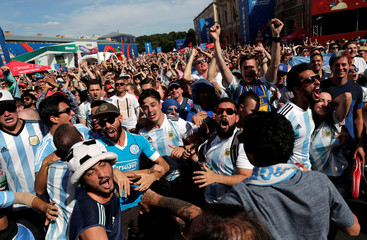 Soccer Football - World Cup - Group D - Argentina vs Iceland