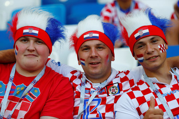 World Cup - Group D - Croatia vs Nigeria