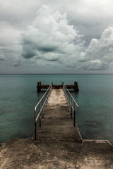 bermuda dock to clouds