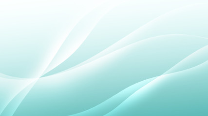 Abstract calming pastel colored background with smooth flowing bright lines