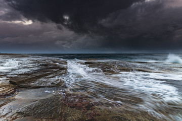 Stormy Morning Seascape