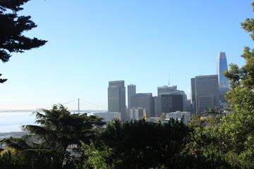 Morning Skyline View of San Francisco