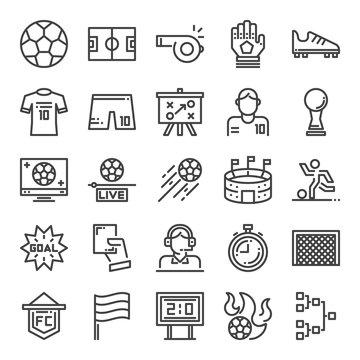 soccer pixel perfecr icons