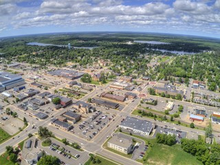 Grand Rapids is a Town on the Mississippi River in Northern Minnesota with a Paper Mill