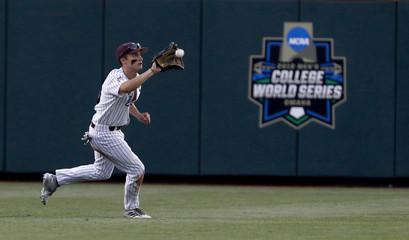 NCAA Baseball: College World Series-Mississippi State vs Washington