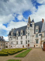 Former bishop's palace in Beauvais, France