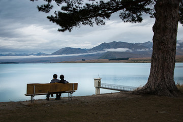Enjoy the Lake Tekapo in South Island New Zealand