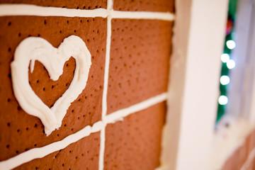 heart bread background