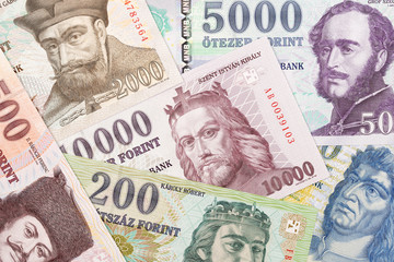 Hungarian money, a background