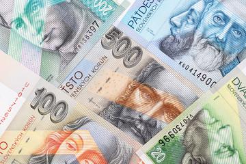 Slovak money, a background