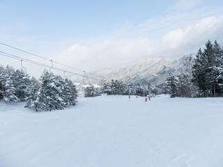絶景のスキー場