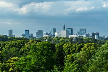 東京 日比谷から見る都心のビル群2