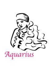 the aquarius woman