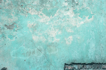 Aged street grunge wall background, texture