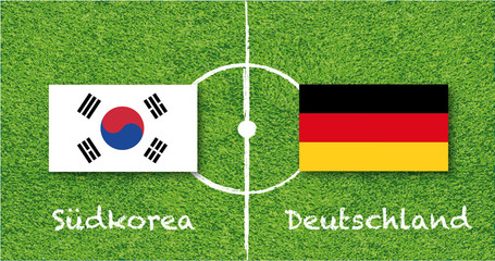 Weltmeisterschaft 2018 Deutschland Südkorea,