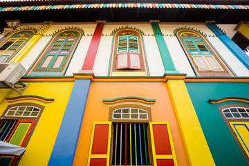 Architecture on Little India Singapore