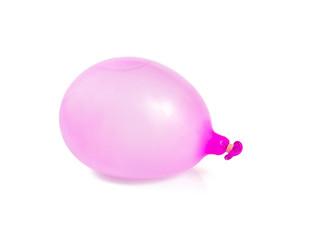 water ballon isolated on white