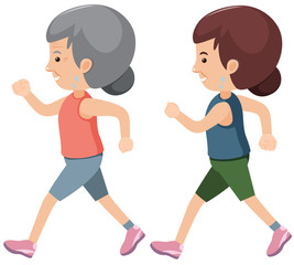 A Set of Older People Exercise