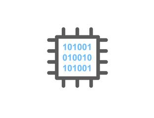 microprocessor cheap icon