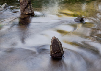 """Soothing abstract picture: """"Water, Sky, Stone."""""""