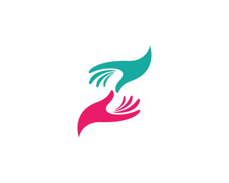 Hand Care Logo Template