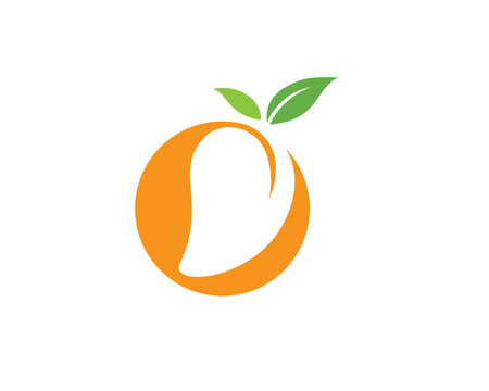Mango vector logo icon