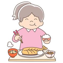 幼児5歳女の子_ご飯