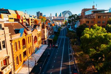 The Rocks in Circular Quay, Sydney, Australia