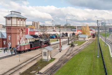 Паровозное депо Steam Train depot