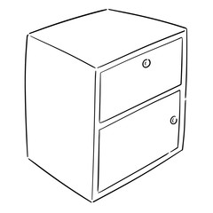 vector of drawer