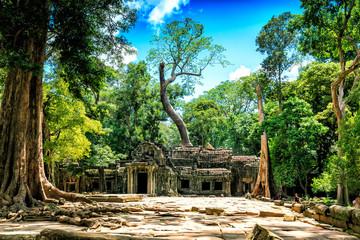 Ruine in Kambodscha