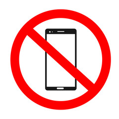 not enter smart phone vector sing