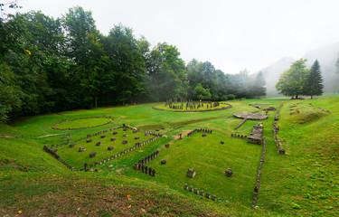 Old fortress Sarmizegetusa Regia