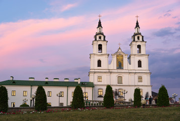 Orthodox Cathedral of Holy Spirit in Minsk, Belarus