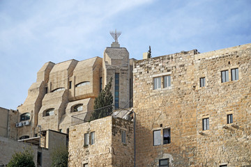 Jerusalem, blend of modern and old architecture