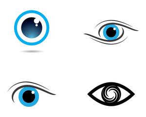 Eye vector icon