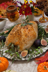 Mediterranean Style Whole Roasted Turkey Breast